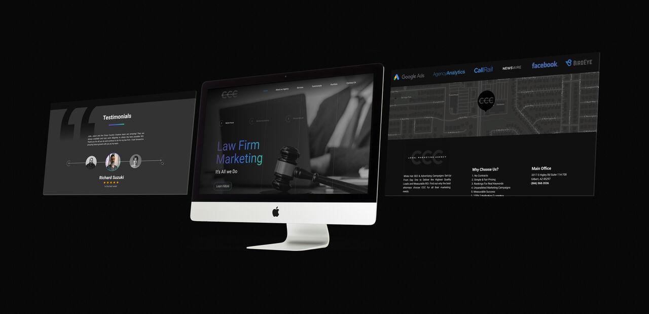 Cross Country Creative website