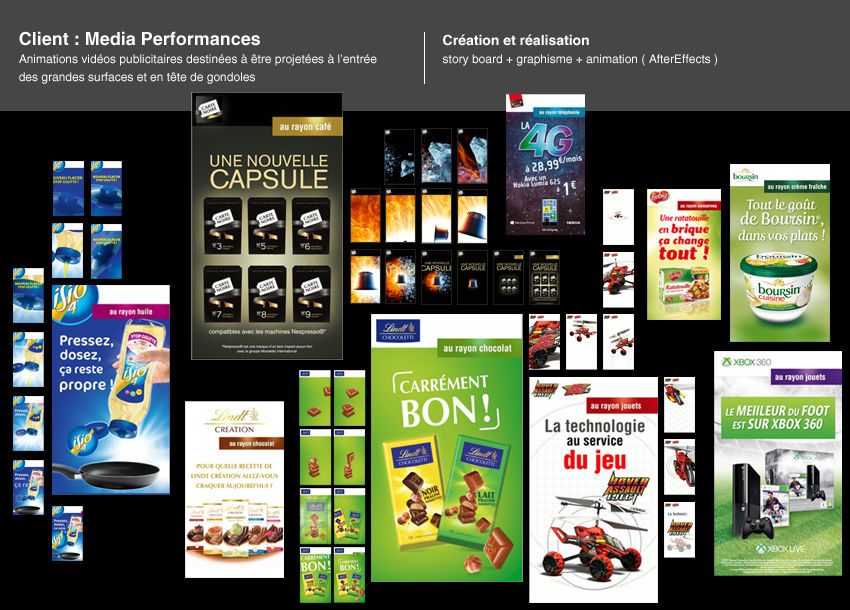 Animations MediaPerformances