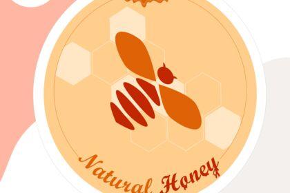 Logo pour marque de miel fictive