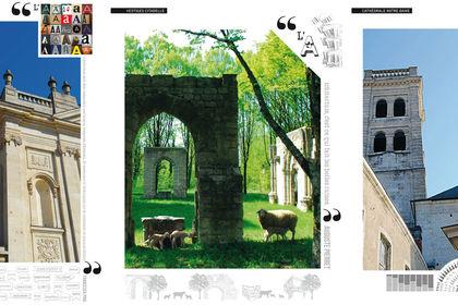 Agenda Ville d'Architecture - échantillon pages