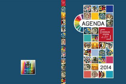 Agenda Vision d'Art- Couverture