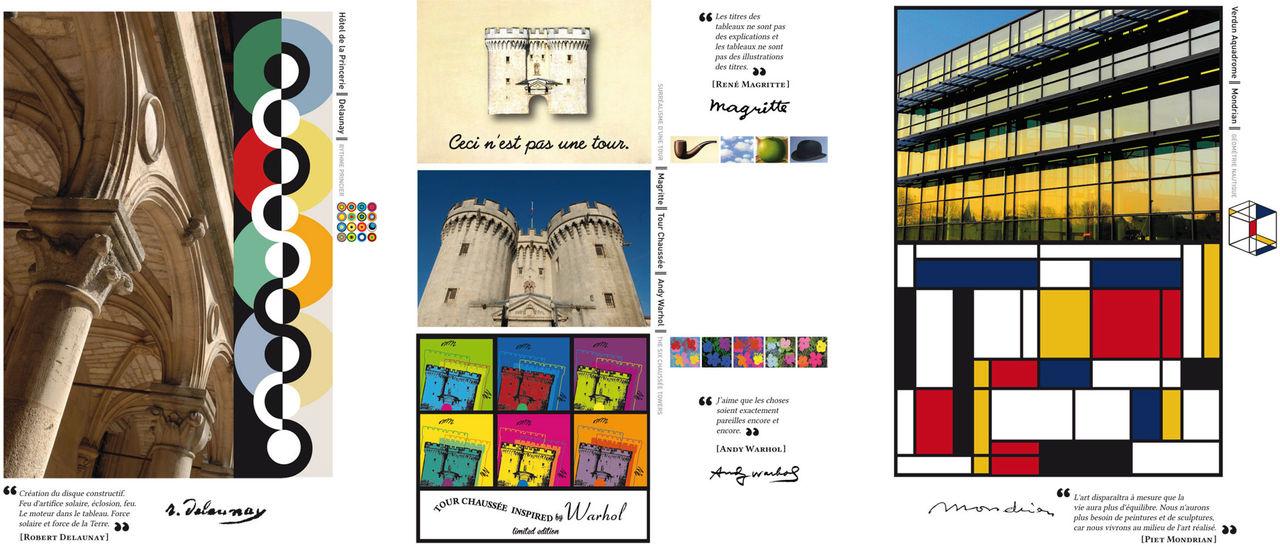 Agenda Vision d'Art - Echantillon pages internes