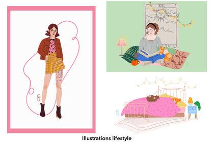 Illustrations lifestle