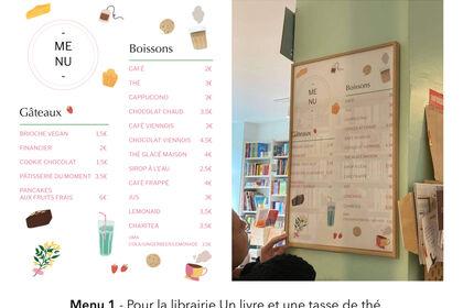 Projet client Un livre et une tasse de thé