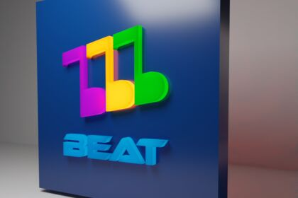 """3D vers. marque de streaming fictive """"Beat"""""""