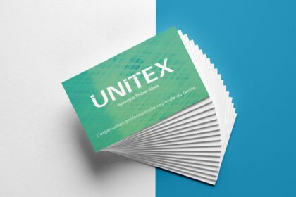 Graphisme - Cartes de visite UNITEX
