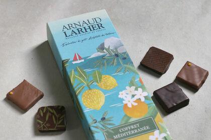 Packaging coffret de chocolats