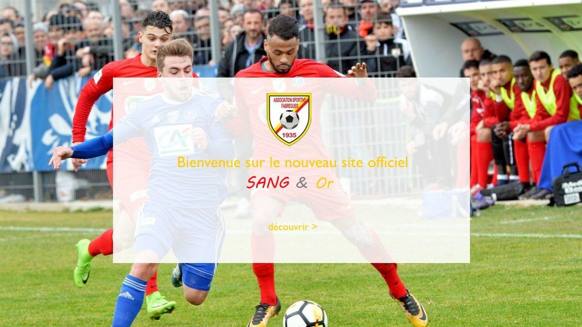 Site vitrine AS Fabrègues FC