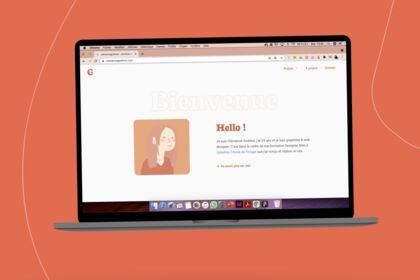 Création de mon site