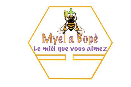 Logo pour apiculteur Guadeloupe