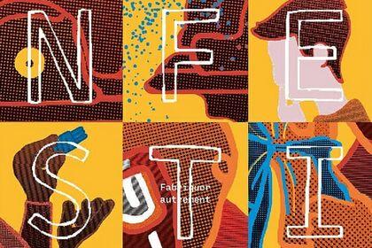Affiche pour un festival des Fablabs