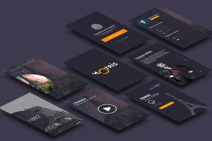 Motris application mobile