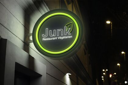 Logo Restaurant Végétarien et healthy