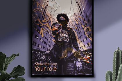 Affiche Show the way Your role