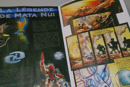 BIONICLE Comic Book - traduit et restauré