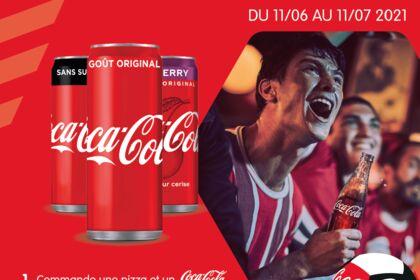 Opération marketing avec Coca-Cola