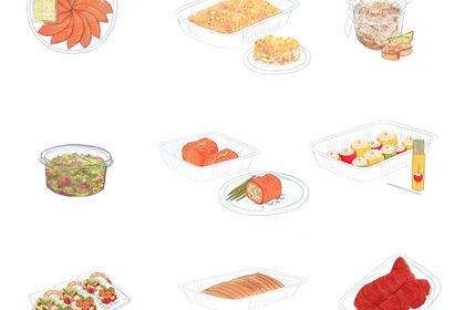 Illustrations food - DELPIERRE -