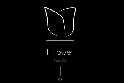 IFLOWER Logo fleuriste