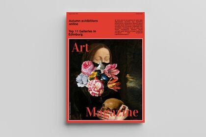 Art Magazine - Orange