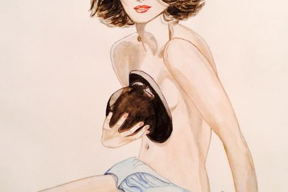Réalisation #96439 Femme inspirée de pub Chanel