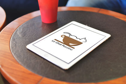 Logo Chat Puccino