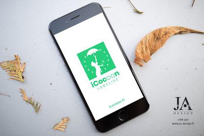 Création du logo iCocoon