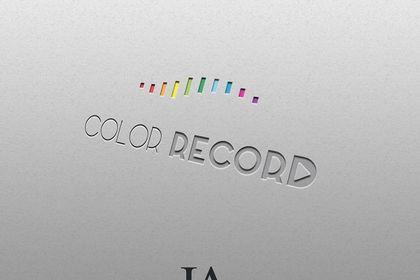 Logo Color Record