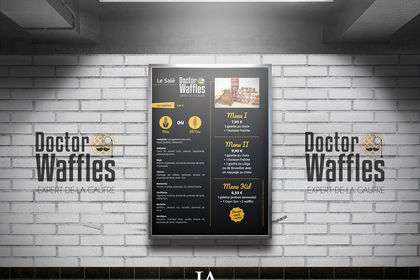 Menu Board - Doctor Waffles