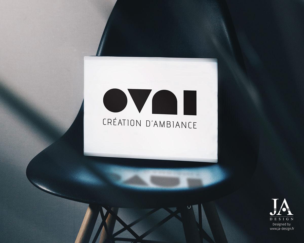 Logo OVNI - Architecte d'intérieur