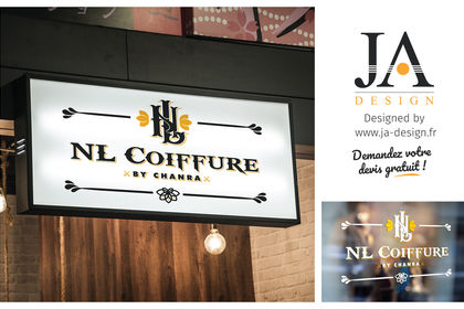 Logo NL Coiffure - By Chanra