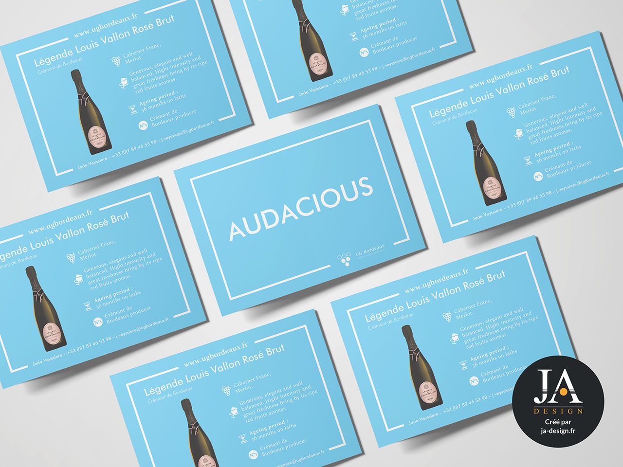 Carte postale UG Bordeaux
