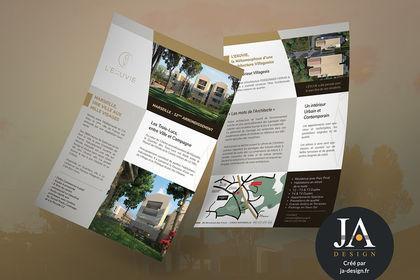 Plaquette de présentation immobilière