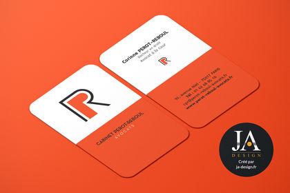 "Logo & carte de visite ""Cabinet Perrot-Reboul"""