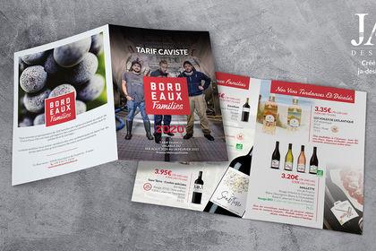 Brochure tarifaire - Vins