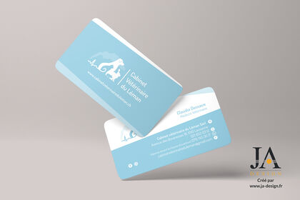 Carte de visite Cabinet Vétérinaire du Léman