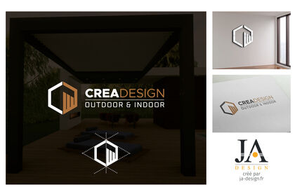 Logo CREA DESIGN