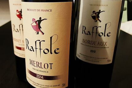 Création d'étiquettes pour le vin