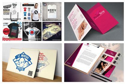 Création de T-shirts & flyers