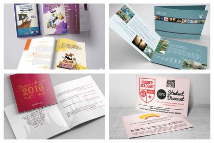 Mise en page de brochure