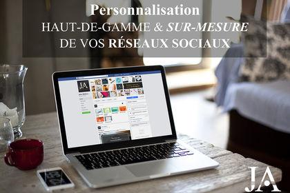 Personnalisation de vos pages