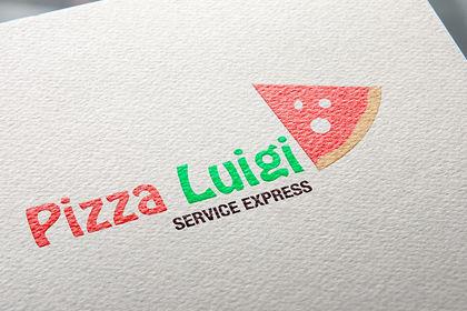 Création logo Pizza Luigi
