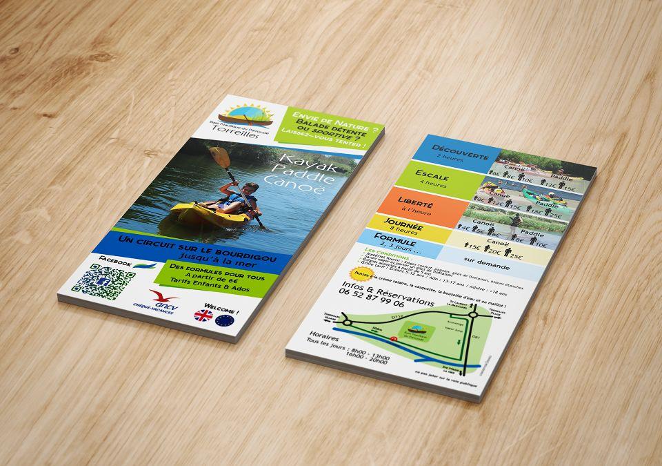 Flyer + Plan