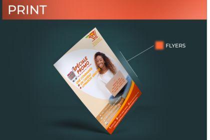 Flyer de pour une entreprise e-commerce