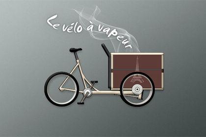 Logo variante 2 Vélo à vapeur
