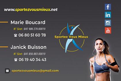 Carte de visite Coach Sportif