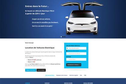 Réalisation site rent-elec.com