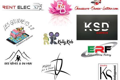 Plaquette 4 - créations de logos