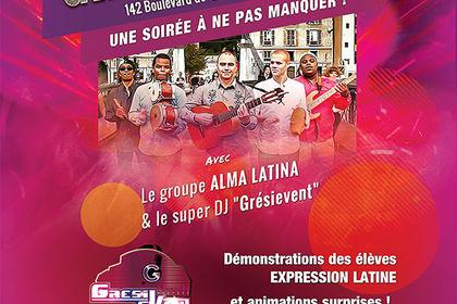 Création affiche/ flyer Gala de danse