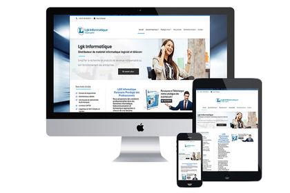 Site internet Lgk Informatique