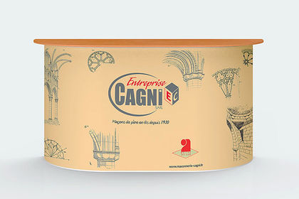 Comptoir stand Gagni